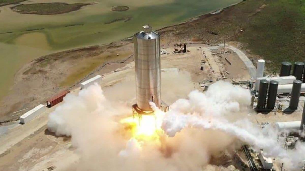 SpaceX Completes Test Flight of Starship Mars Rocket Prototype
