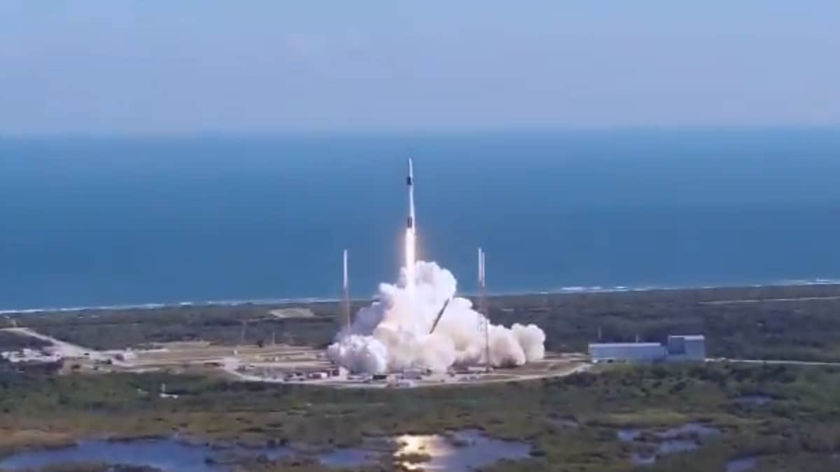 SpaceX Launches Genetically Enhanced 'Mighty Mice' to International Space Station