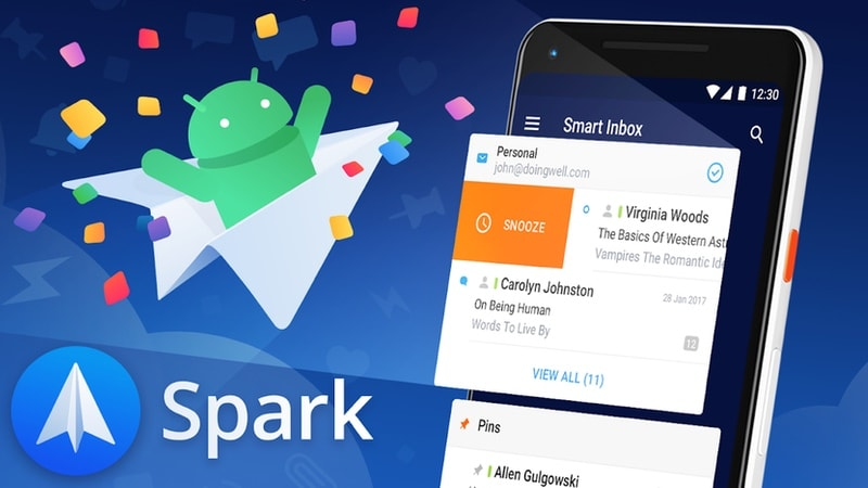Spark Email App Launched for Android, the Day Inbox by Gmail Shuts Down