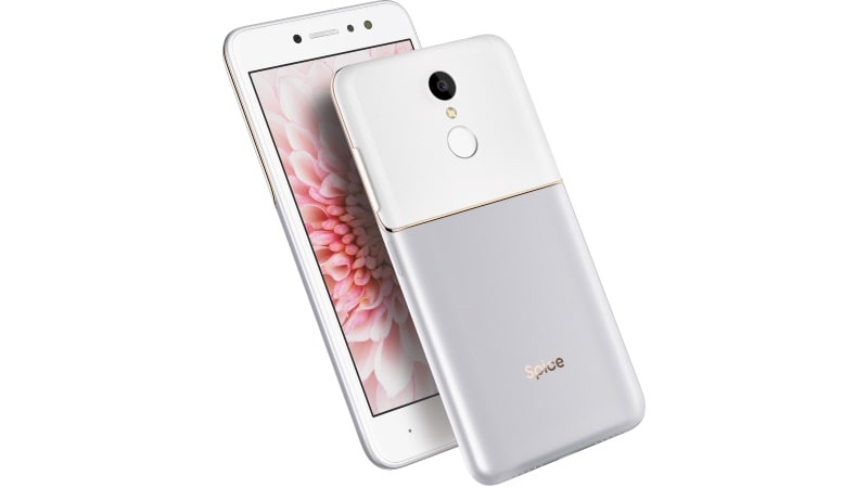 Spice V801 With 4g Volte Front Flash Camera Launched Price