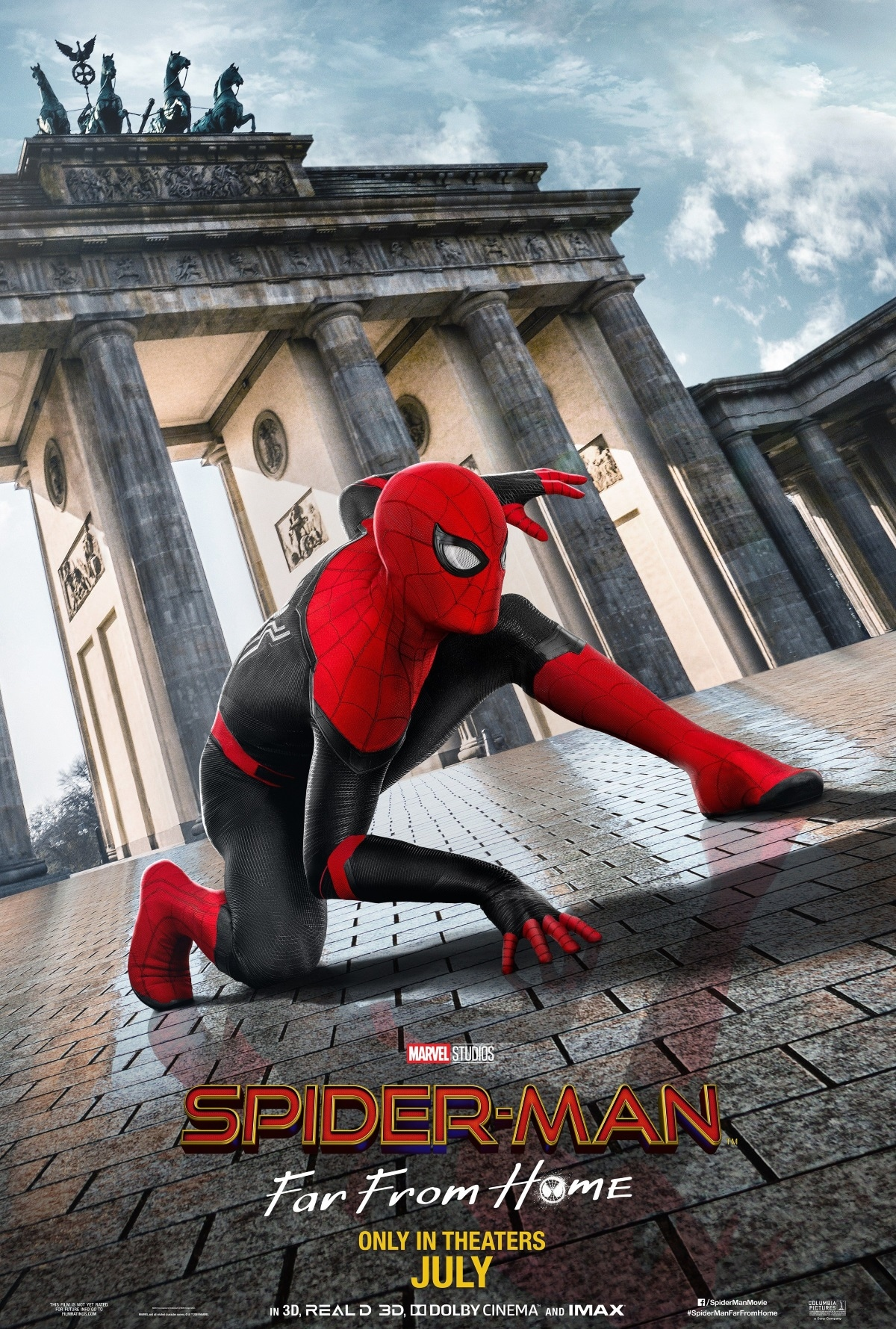 spider man far from home poster berlin Spider Man Far From Home poster