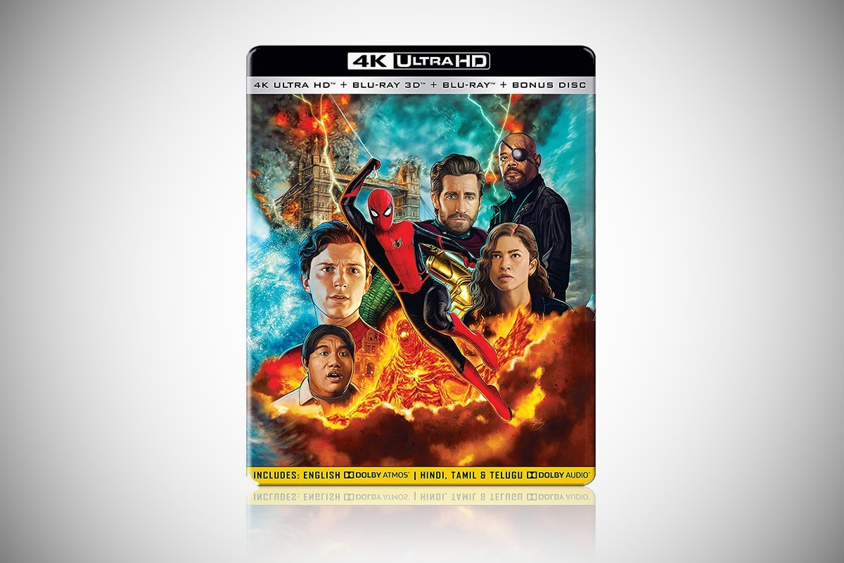 Spider-Man: Far From Home Now Available on HD, 3D, 4K Blu