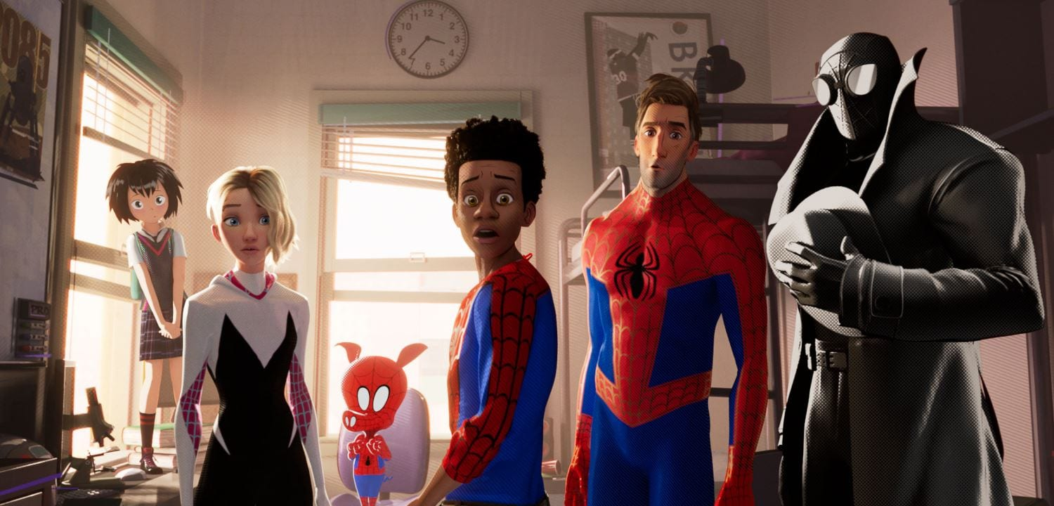 spider man into the spider verse all Spider Man Into the Spider Verse