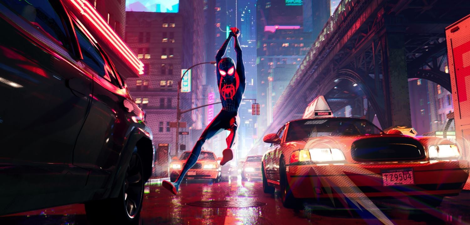 spider man into the spider verse new york Spider Man Into the Spider Verse