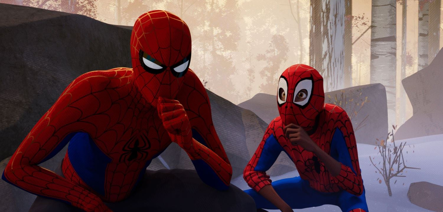 how to download spider man into the spider verse in hindi hd