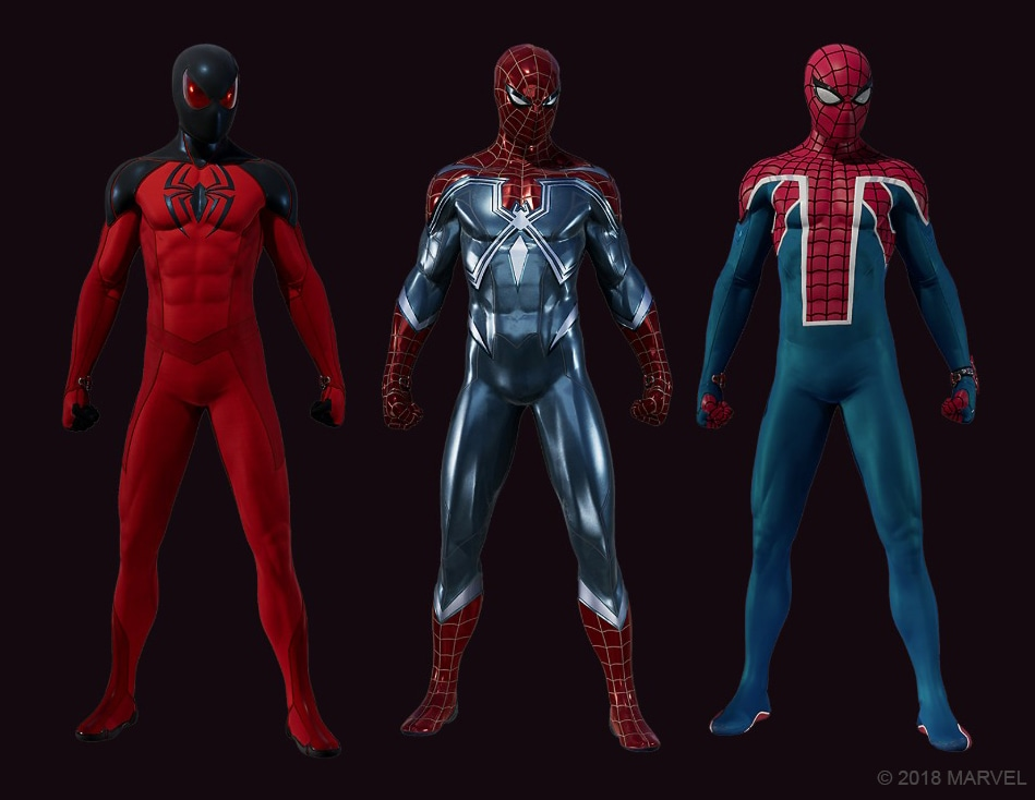 spider man suits Spider Man PS4 suits