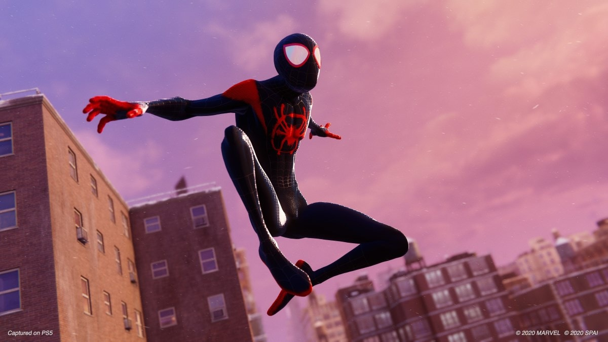 Spider-Man: Miles Morales Will Come With the Spider-Man: Into the Spider-Verse Suit