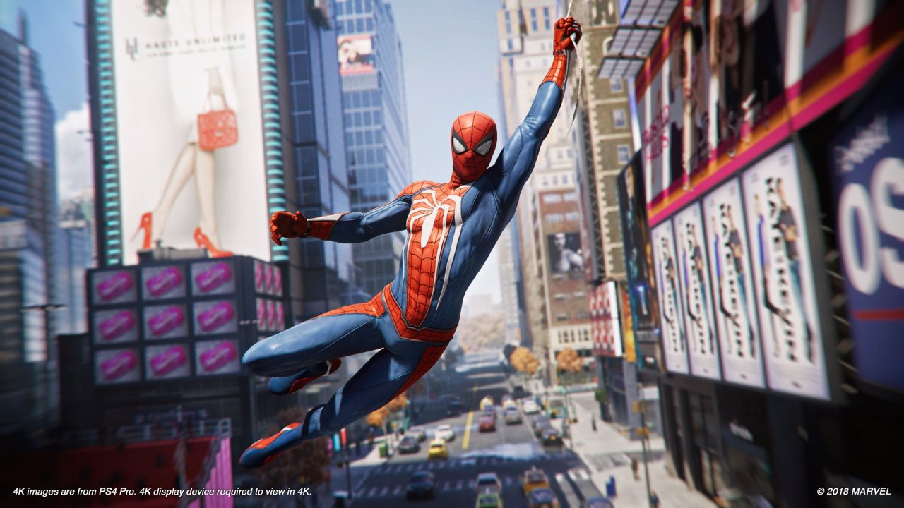 Miles Morales Meets His Hero in 'Spider-Man' PS4 Gameplay Launch Trailer
