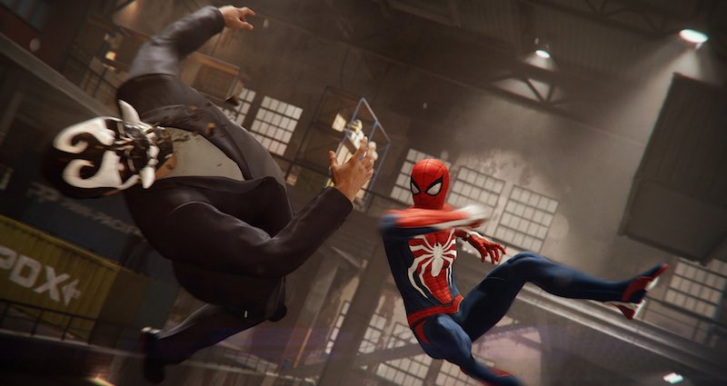 'Marvel's Spider-Man' Launch Trailer: Spidey Swings Into Action