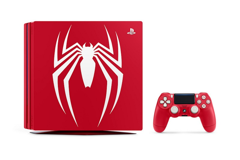 Spider-Man Limited Edition PS4 Pro Announced