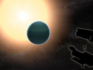 NASA Telescopes Detect Signs of Water on Distant 'Warm Neptune'
