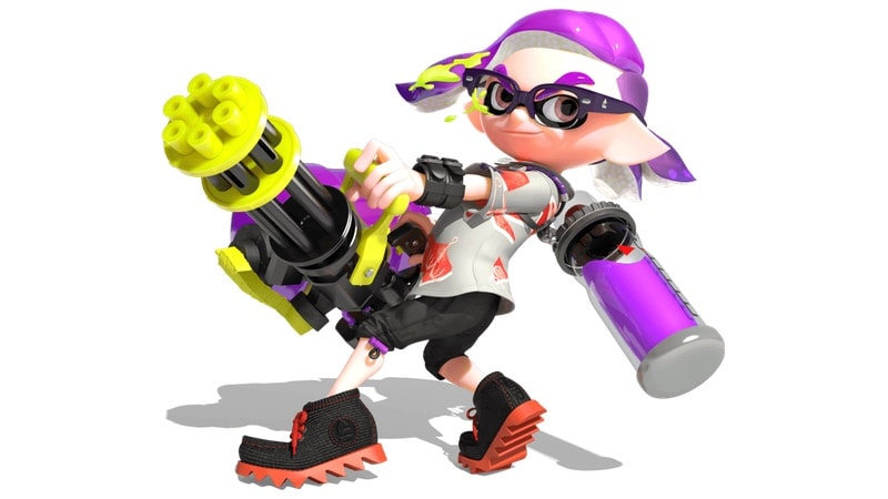 splatoon 2 hero char Splatoon 2