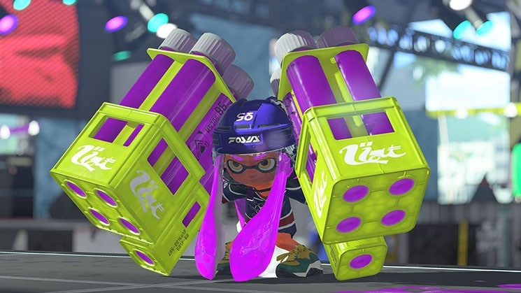 splatoon 2 inkling purple Splatoon 2