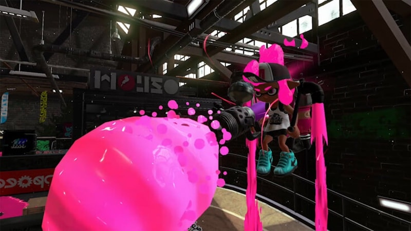 splatoon 2 pink ink Splatoon 2