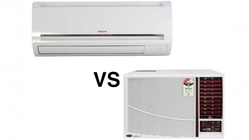 split vs window air conditioners