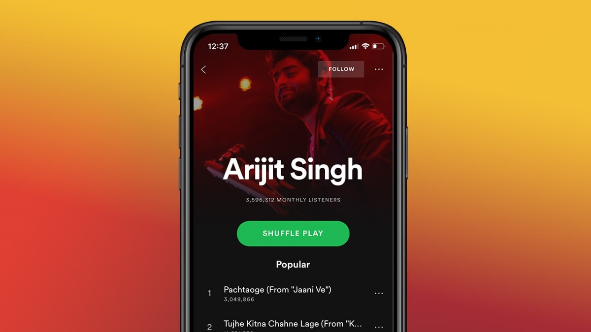 spotify arijit singh Spotify Arijit Singh