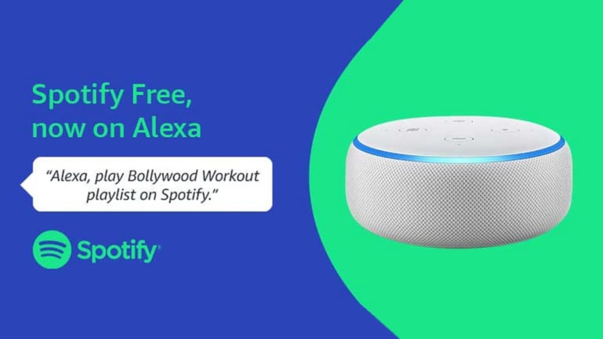 Spotify Now Available on Alexa-Enabled Devices in India, Starting With Amazon Echo