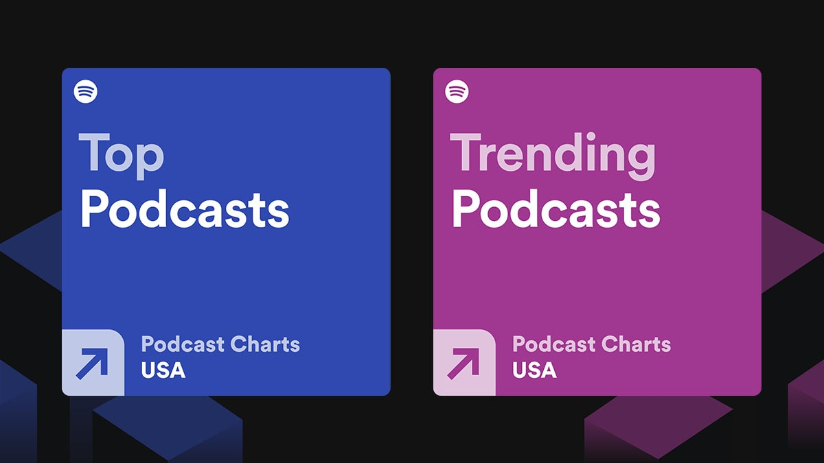 Spotify now shows top, trending podcast charts in India