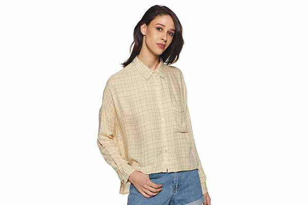 best spring clothes in india vERO MODA Women's Body Blouse Shirt