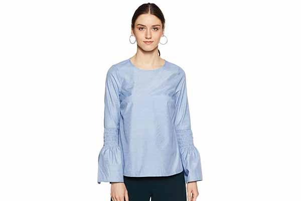best spring clothes in india VERO MODA Women's Body Blouse Top