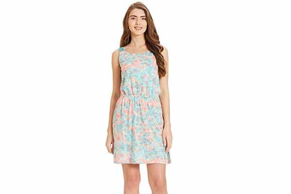 best spring clothes in india VERO MODA Women's A-Line Dress
