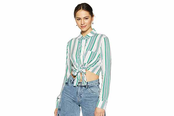 BEST SPRING CLOTHES IN INDIA Forever 21 Women's Regular Fit Shirt