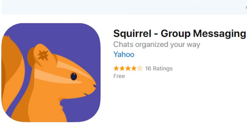 Yahoo Squirrel Group Chat App Unveiled for Android and iOS, Invite-Only for Now