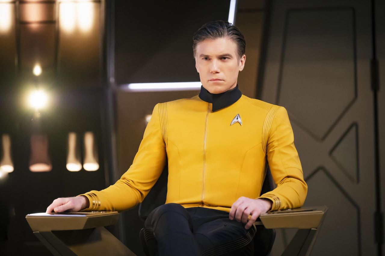 star trek discovery season 2 pike anson mount Star Trek Discovery season 2 Captain Pike Anson Mount