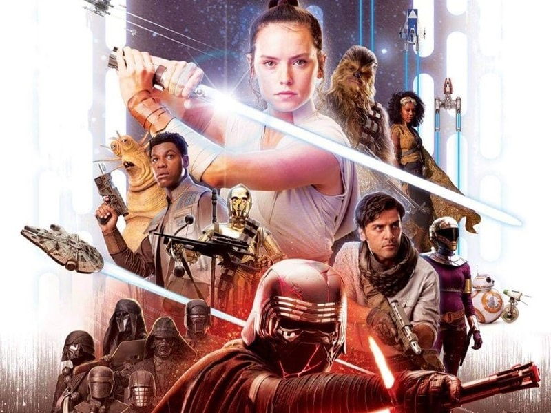 Star Wars: Episode IX Alleged Poster Leak Shows Knights of Ren, Jannah, and Zorii