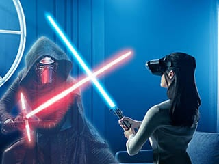 Star Wars: Jedi Challenges Makes You a Jedi With an Augmented Reality Lightsaber