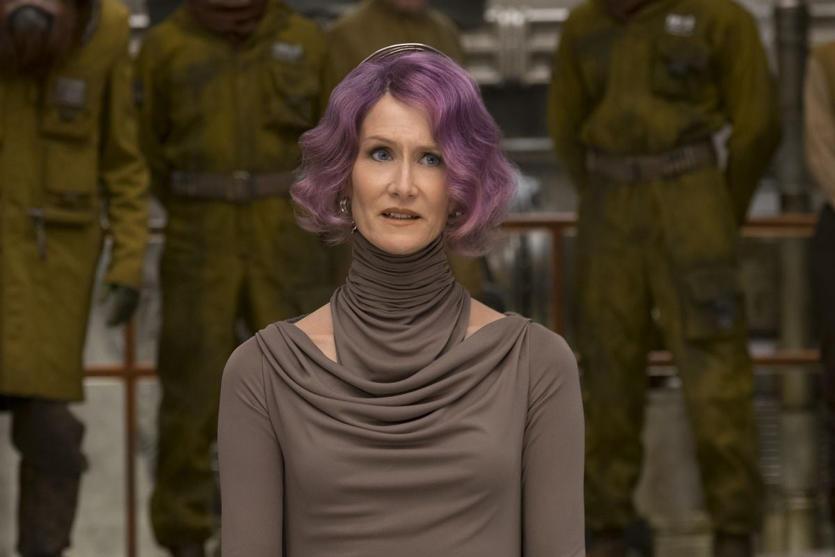 star wars last jedi amilyn holdo Star Wars The Last Jedi
