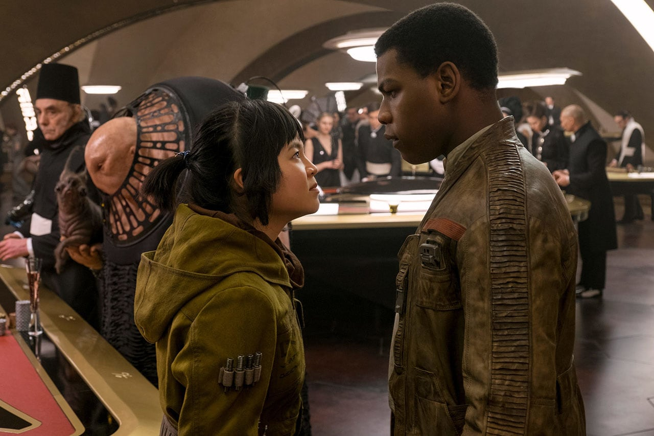 star wars the last jedi rose and finn Star Wars The Last Jedi Rose Tico Finn