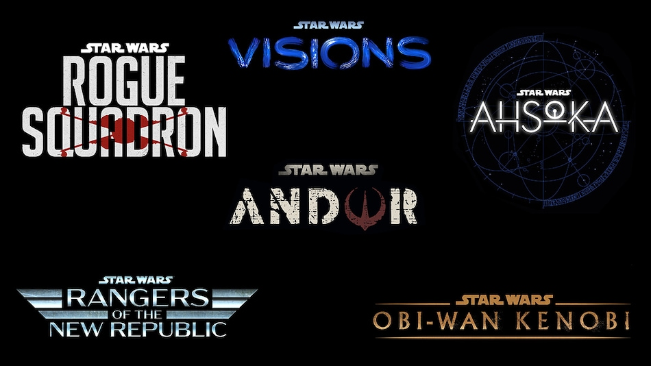 Patty Jenkins' Rogue Squadron Movie, Four New Star Wars Series Announced
