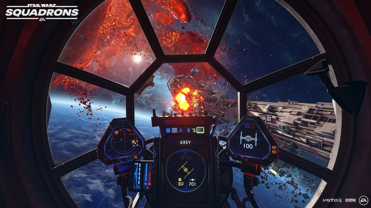 Star Wars: Squadrons Gameplay Trailer Released at EA Play 2020