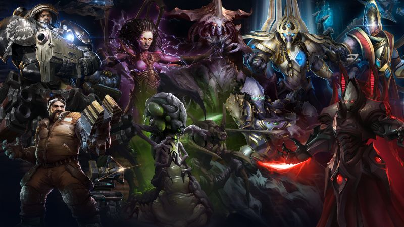 Starcraft II: Wings of Liberty is now free-to-play
