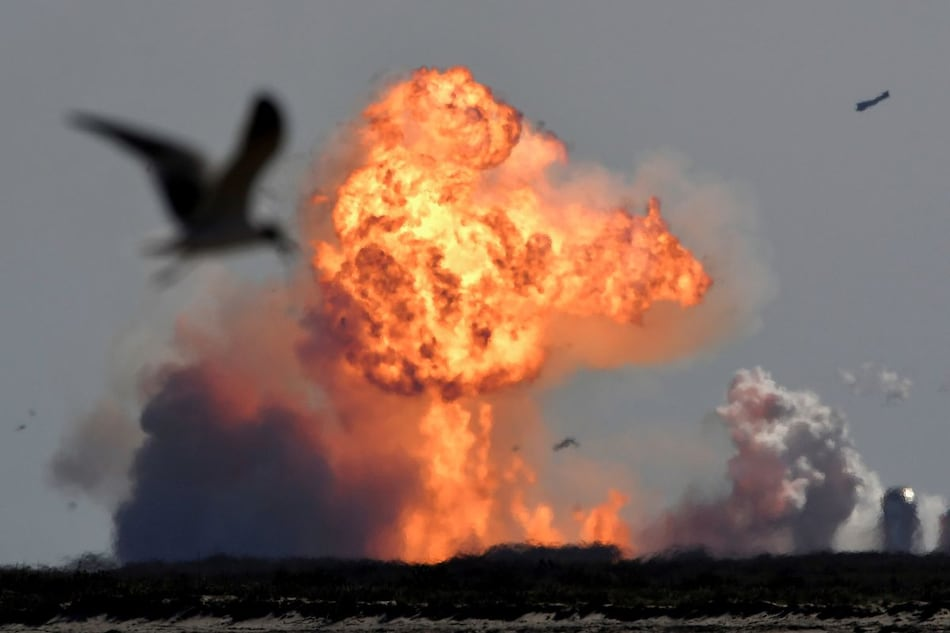 Elon Musk's SpaceX Starship SN9 Prototype Rocket Explodes on Landing After Test Launch