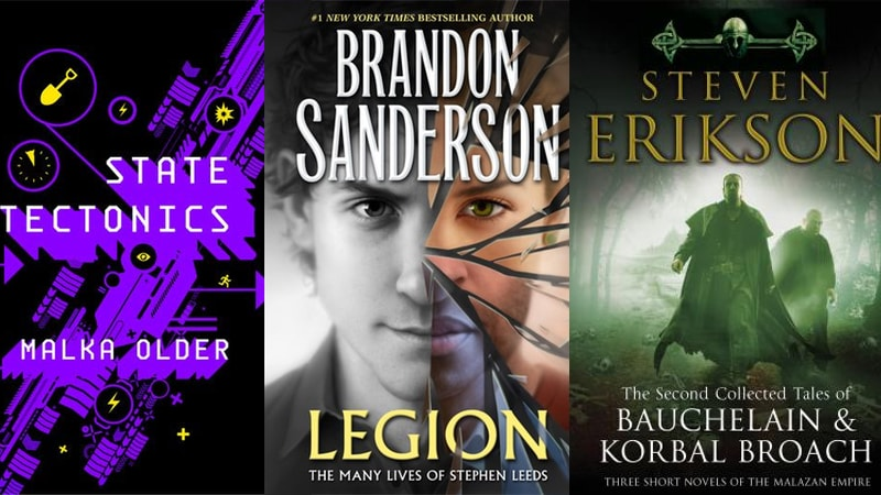 New Books by Malka Older, Brandon Sanderson, Steven Erikson Coming This September