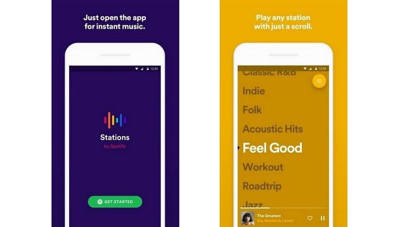 Stations by Spotify App in Testing to Rival Pandora