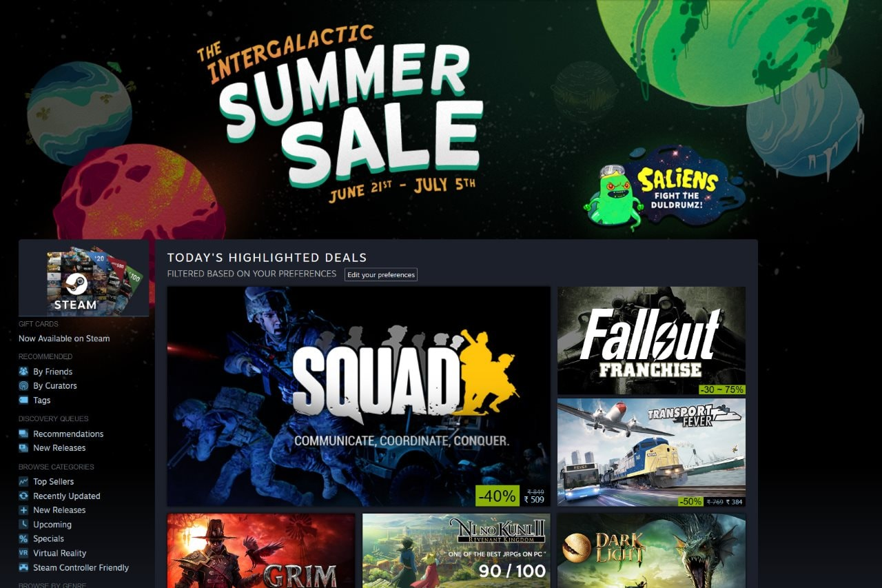 Steam Summer Sale 2018: The Top Sales and Deals