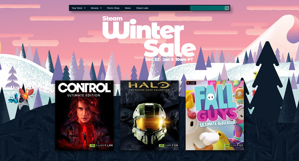 The Best Deals and Games in the Steam Winter Sale - Download The Best Deals and Games in the Steam Winter Sale for FREE - Free Cheats for Games