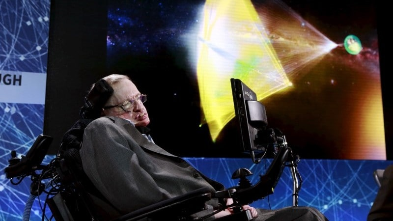Stephen Hawking's Voice to Be Beamed Into Space at Final Send-Off