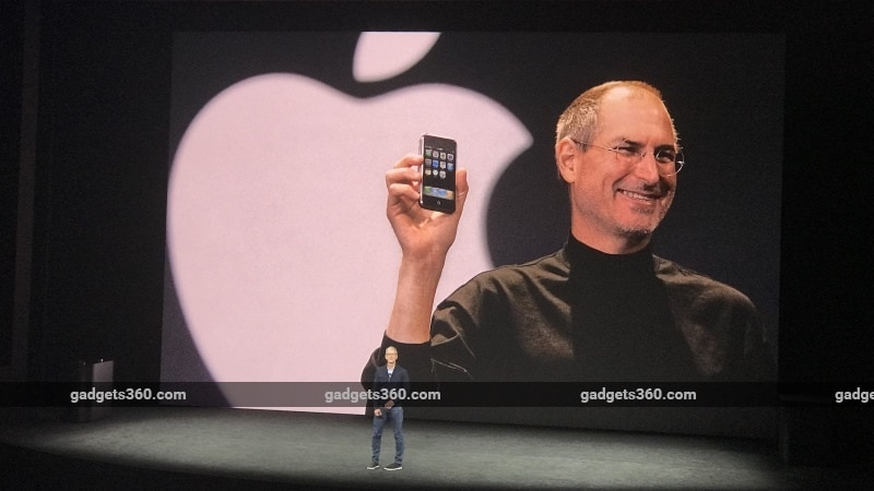 Steve Jobs Still Loomed Large at Apple's Big Event. Tim Cook Seems Just Fine With That