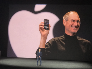 Steve Jobs Still Loomed Large at Apple's Big Event. Tim Cook Seems Just Fine With That.