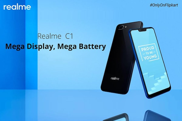 Realme C1 Sale Today at 12PM Exclusively on Flipkart: Realme C1 Price in India, Specifications, Offers