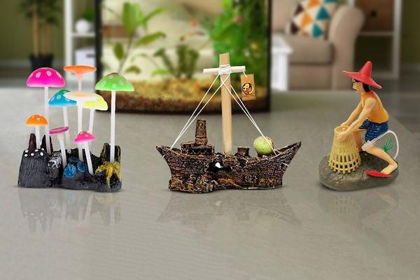 Best Decorative Ornaments For Aquarium Tanks