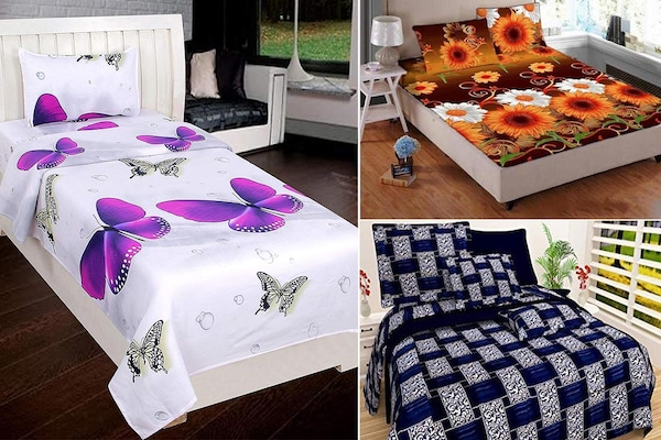Make Your Room Alive With These 3D Print Bedsheets