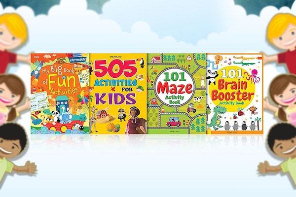Fun Alert: Find The Most Interesting Activity Books For Kids Here
