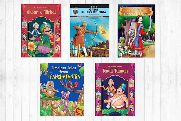 Classical Indian Story Books For Kids: Evergreen Folktales For Bedtime