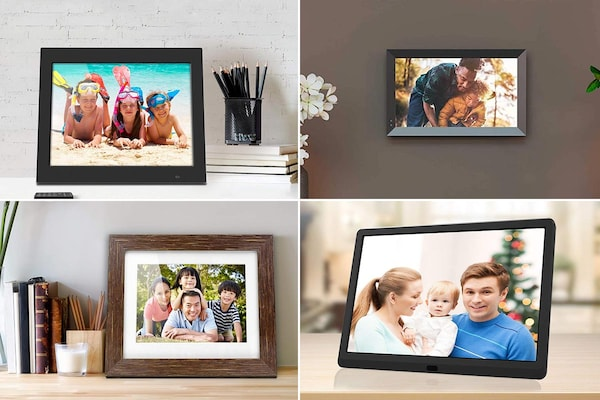 Best Digital Photo Frames: Putting Up A Slide Show Of Memories