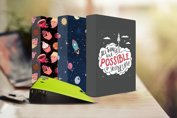 Organise Your Paperwork In Style With These Binders